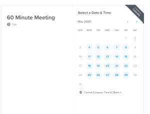 Calendly HR tools