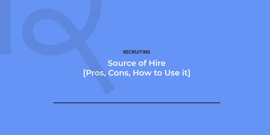 How to calculate source of hire?