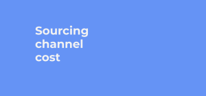 sourcing channel cost