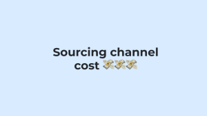souring channel cost