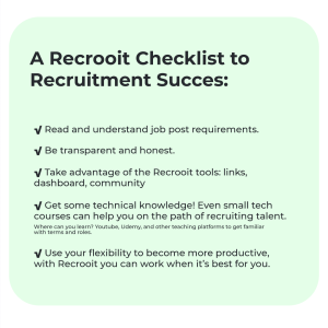 Better recruitment gig tips