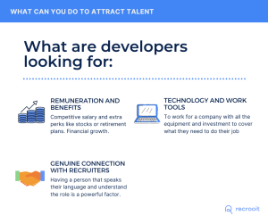 How to hire a developers, what developers are looking for