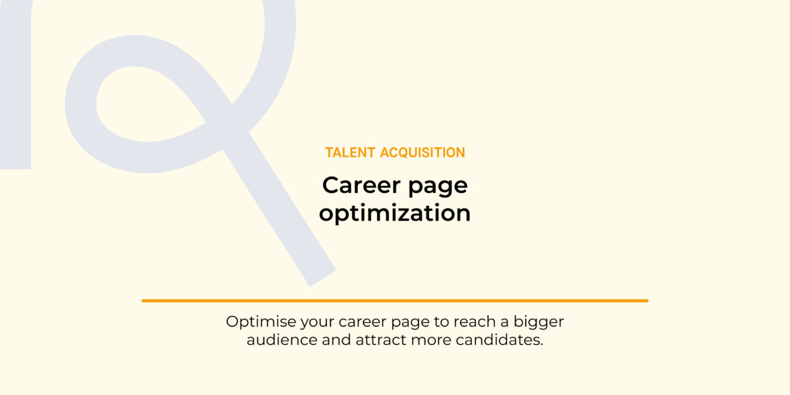 optimize a career page